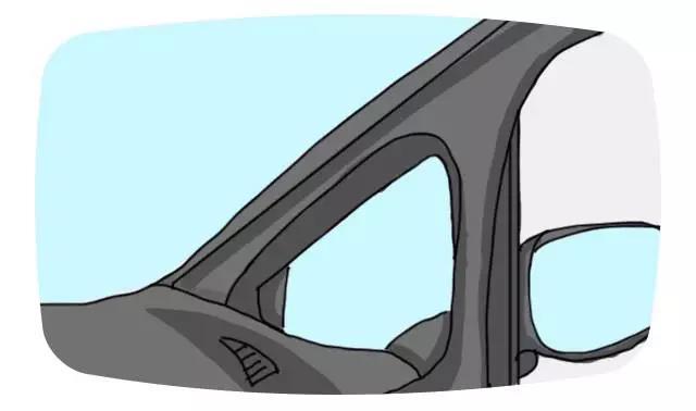 车前小三角窗